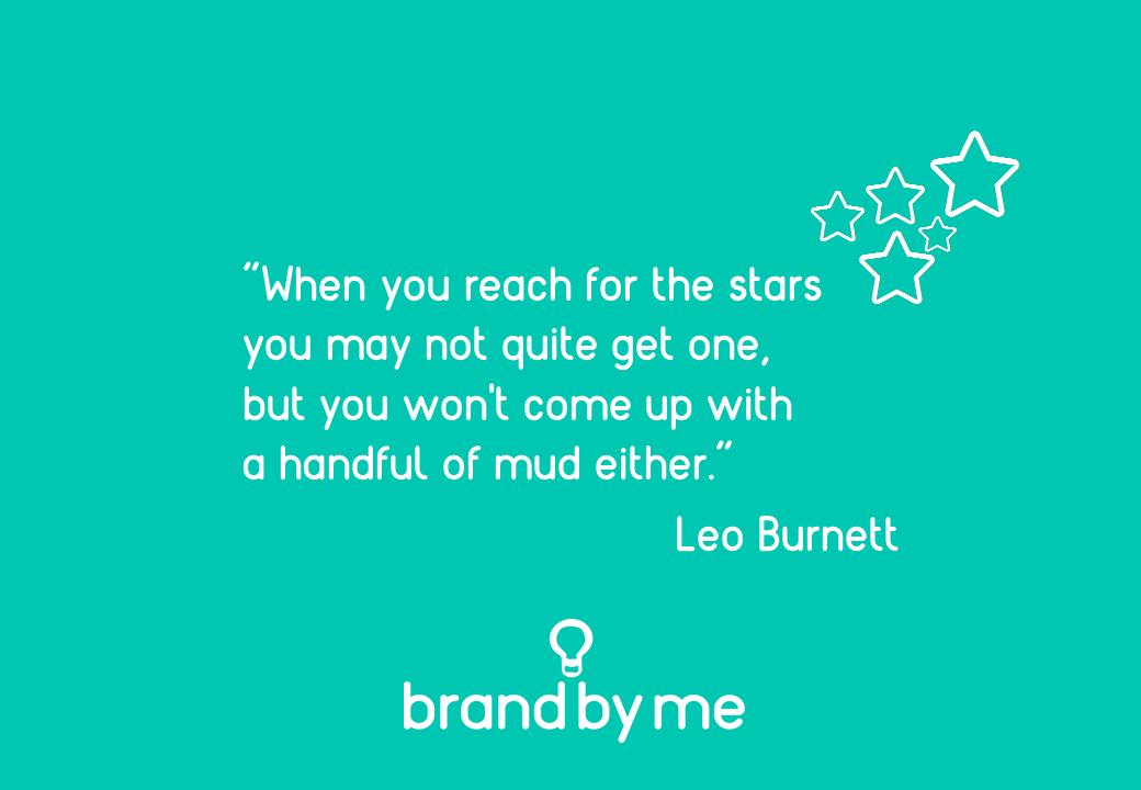 Leo Burnett brand vision quote
