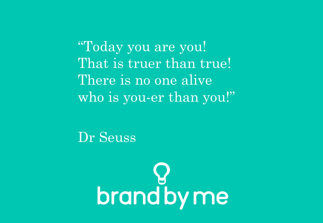 brand by me quote on personal branding