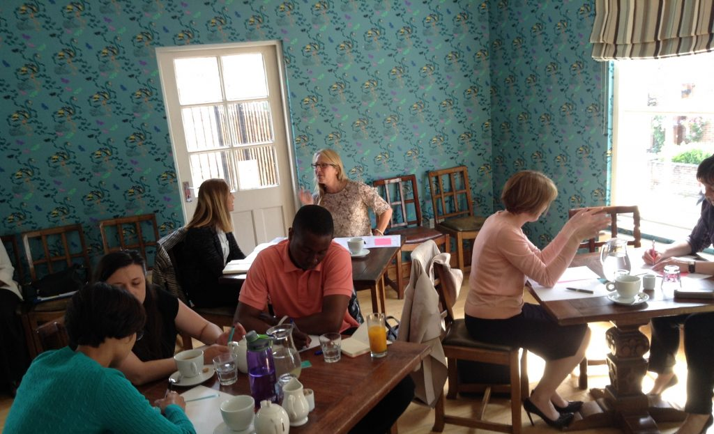 Room is buzzing at BrandbyMe workshop